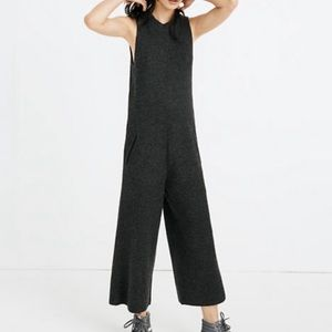 Madewell Wide Leg Merino Wool Sweater Jumpsuit